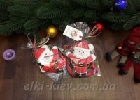 """Имбирный пряник """"Санта Клаус"""""""