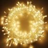 Гирлянда прозрачная LED 300 теплый белый