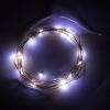 Гирлянда Роса LED100 белый 10м (+мерцание) 220В+usb