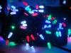 Гирлянда черная LED 100 мульти