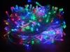 Гирлянда прозрачная LED 100 мульти