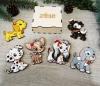 Набор деревянных игрушек Собачки